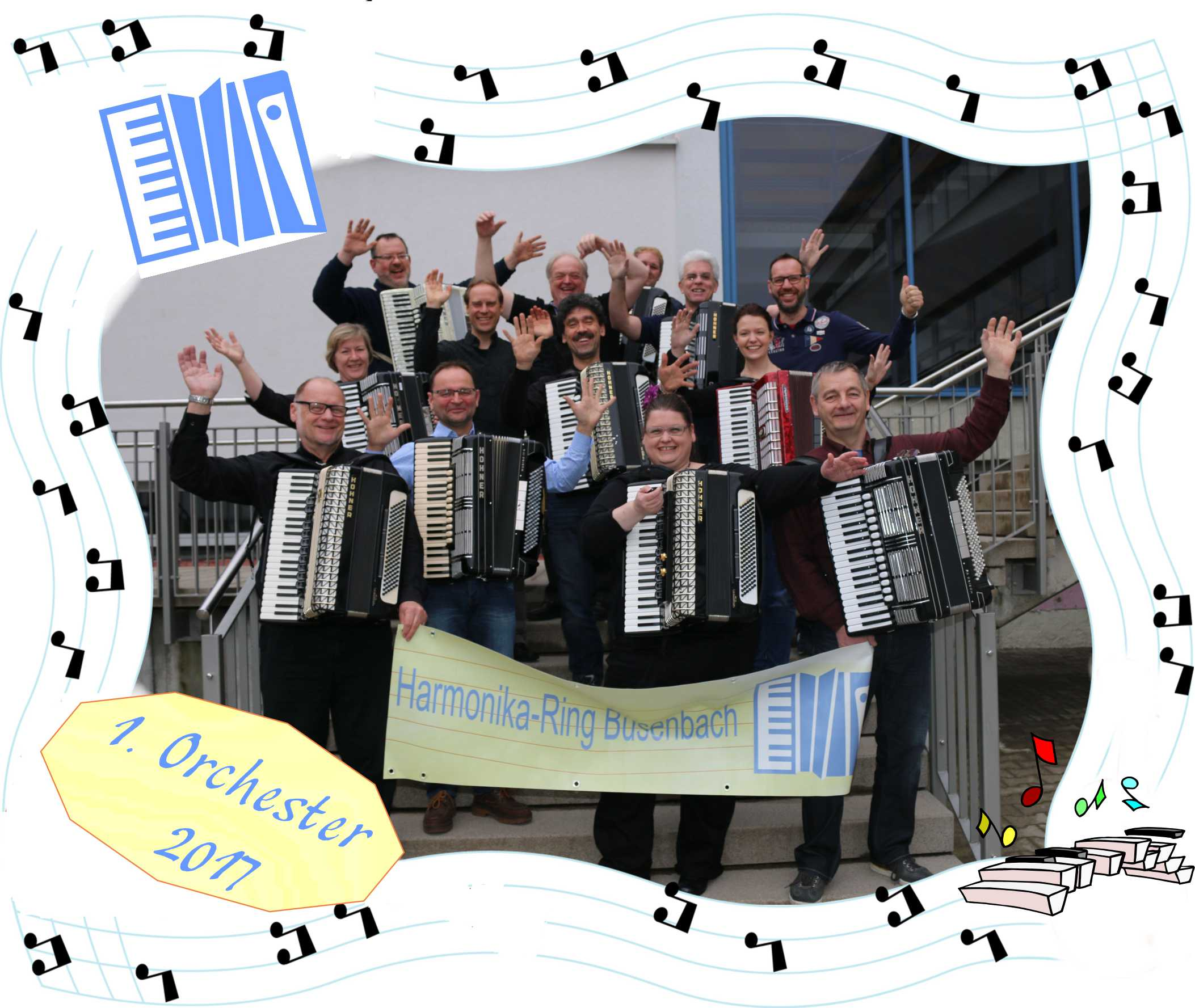Unser 1. Orchester 2017